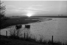 JVH-0204 Scharendijke. Brouwersdam. Uitzicht op de Grevelingen vanaf de Brouwersdam.