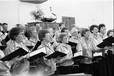 JVH-1644 Scharendijke. Bethlehemplein. Nederlands Hervormde Kerk. Zang- en korenavond van christelijk gemengde ...