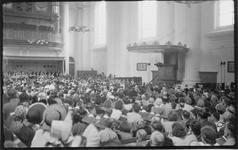 RK-0447 Zierikzee. Viering van het 1100-jarig bestaan van de stad Zierikzee. Herdenkingstdienst in de Grote Kerk.