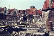 RK-1557 Zierikzee. Watersnoodramp 1953. Achterzijde Krepelstraat - Breedstraat.