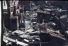 RK-1558 Zierikzee. Watersnoodramp 1953. Achterzijde Hoofdpoortstraat. N.Z.