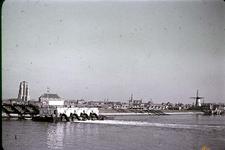 RK-1731 Zierikzee. Westhavendijk. Leegpompen polder.