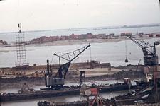 RK-1752 Ouwerkerk. Watersnoodramp 1953. Herstelwerkzaamheden.