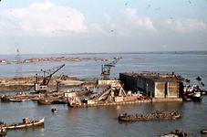RK-1768 Ouwerkerk. Watersnoodramp 1953. Herstelwerkzaamheden.