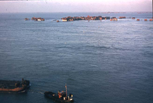 RK-1773 Ouwerkerk. Watersnoodramp 1953. Herstelwerkzaamheden.