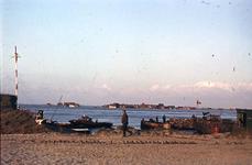 RK-1776 Ouwerkerk. Watersnoodramp 1953. Herstelwerkzaamheden.