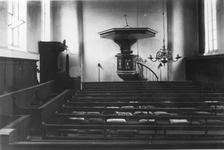 RK-1973 Oosterland. Nederlandse Hervormde Kerk. Interieur