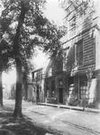 RK-2016 Zierikzee. Kerkhof nz. Reproductie van een foto van P.C. van Immerzeel van de Ambachtsschool omstreeks 1910-1915.
