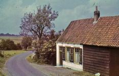 RK-2049 Koudekerke. De boerderij van Adriaan van der Bijl nabij de Plompe Toren.
