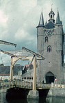 RK-2053 Zierikzee. Zuidhavenpoort met ophaalbrug.