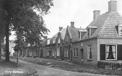 WA-0063 Renesse. Kromme Reke. De woning op de voorgrond heet 't Zwaantje, omstreeks 1950 gebouwd voor wed. De ...