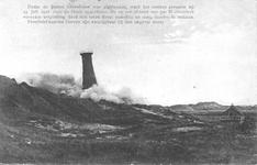 WA-1032 Noordwelle. Vuurtoren Noord Schouwen bij Den Haard. Deze toren uit 1848 stond ter hoogte van de duinovergang ...