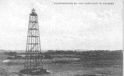 WA-1034 Renesse. Kustlicht. De lichtopstand stond tussen tegen de duinen tussen de Laone en de Scholderlaan.