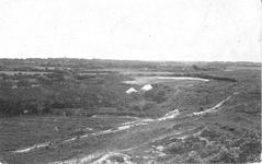 WA-1074 Renesse. Laone. Eenzame kampeerders achter De Theetuin. Men noemde dit bosje op de vroongronden Het Torenboschje .