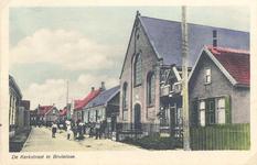 X-0075W Bruinisse. Kerkstraat