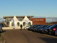 X-2657 Bruinisse. Nijverheidsweg. Opening sportpark Volharding , genoemd naar de voorgangers van de huidige gebruikers ...