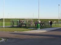 X-2658 Bruinisse. Nijverheidsweg. Opening sportpark Volharding , genoemd naar de voorgangers van de huidige gebruikers ...