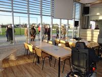 X-2662 Bruinisse. Nijverheidsweg. Opening sportpark Volharding , genoemd naar de voorgangers van de huidige gebruikers ...
