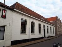 X-5573 Zierikzee. Manhuisstraat. Voormalige kazerne, vanaf 1874 gebouw voor de verpleging van besmettelijke ziekten, ...