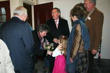 X-5688 Dreischor. Ring. Nederlands Hervormde Kerk (Adriaanskerk). Opening opgeknapte grafkapel met gerestaureerde ...