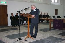 X-5692 Dreischor. Ring. Nederlands Hervormde Kerk (Adriaanskerk). Opening opgeknapte grafkapel met gerestaureerde ...