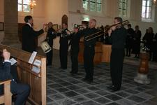 X-5693 Dreischor. Ring. Nederlands Hervormde Kerk (Adriaanskerk). Opening opgeknapte grafkapel met gerestaureerde ...
