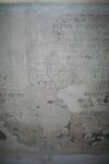 X-5704 Dreischor. Ring. Nederlands Hervormde Kerk (Adriaanskerk). Detail van muurschildering/cartouche met ...