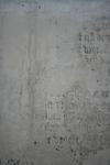 X-5705 Dreischor. Ring. Nederlands Hervormde Kerk (Adriaanskerk). Detail van muurschildering/cartouche met ...