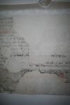 X-5709 Dreischor. Ring. Nederlands Hervormde Kerk (Adriaanskerk). Detail van muurschildering/cartouche met ...