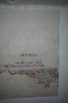 X-5710 Dreischor. Ring. Nederlands Hervormde Kerk (Adriaanskerk). Detail van muurschildering/cartouche met ...