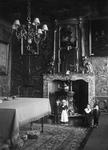 ZM-0324A Zierikzee. Poststraat 45. Interieur Regentenkamer. Sinds 1863 Burgerweeshuis. Het gebouw dateert uit omstreeks 1730.