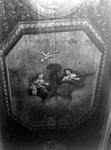 ZM-0328 Zierikzee. Poststraat 45. Detail plafond Regentenkamer. Sinds 1863 Burgerweeshuis. Het gebouw dateert uit ...