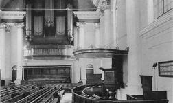 ZM-0984 Zierikzee. Interieur van de Nieuwe of Grote kerk.