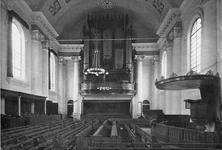 ZM-0987 Zierikzee. Interieur Nieuwe Kerk.