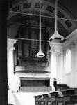 ZM-0993 Zierikzee. Grote of Nieuwe Kerk tijdens restauratie.