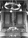 ZM-0994 Zierikzee. Orgel in de Grote of Nieuwe Kerk, voor de restauratie.