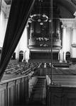 ZM-0995 Zierikzee. Interieur van de Nieuwe of Grote Kerk, voor de grote restauratie