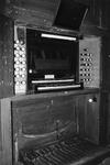 ZM-0999 Zierikzee. Klavier van het orgel in de Nieuwe of Grote Kerk.