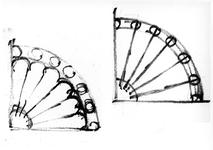 ZM-2713 Zierikzee. Stoephekken. Tekening door dhr. C.A. van Swigchem.