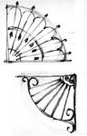 ZM-2717 Zierikzee. Stoephekken. Tekening door dhr. C.A. van Swigchem.