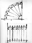 ZM-2718 Zierikzee. Oude Haven. Stoephekken. Tekening door dhr. C.A. van Swigchem.