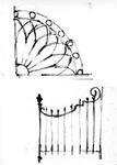 ZM-2723 Zierikzee. Stoephekken. Tekening door dhr. C.A. van Swigchem.