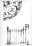 ZM-2724 Zierikzee. Stoephekken. Tekening door dhr. C.A. van Swigchem.
