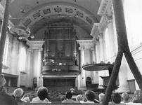 ZM-3174 Zierikzee. Nieuwe kerk. Orgelconcert door H. van der Doel.