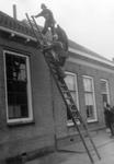 ZZG-0259 Burgh. Kerkstraat. Brand Openbare Lagere School.
