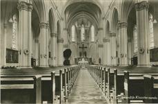 HON-P-5 Interieur van de Rooms-katholieke kerk aan de Groenendijk te Kloosterzande