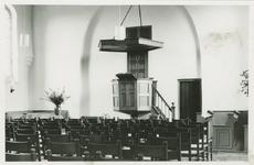 KTD-7 Het interieur van de Nederlandse Hervormde kerk aan de Dorpsstraat te Kattendijke