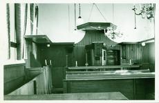 KTS-8 Interieur van de Nederlandse Hervormde kerk te Kats