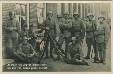 MIL-P-15 Een groep militairen met wapens