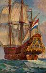 12614 'Vlaggeschip 'Adm. de Ruyter'. Midden 17e eeuw.'